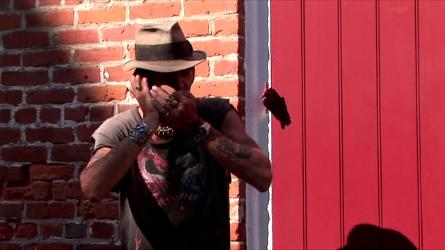 ms street performer playing harmonica, french quarter, new orleans, louisiana, usa - musician stock videos & royalty-free footage