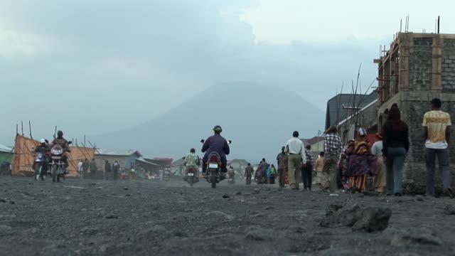 WS LA Street scene, Goma, Congo