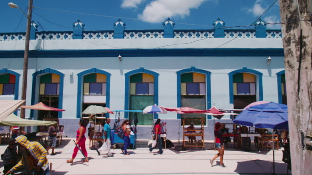 street scene in cuba - cuba stock videos & royalty-free footage