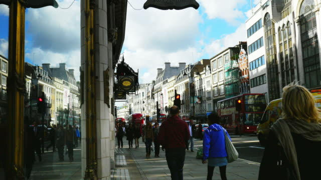 street scene in london the strand (uhd) - the strand london stock videos and b-roll footage
