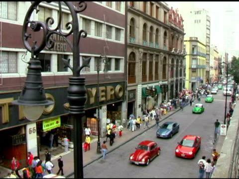 Street Scene in Mexico City