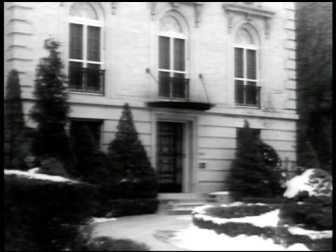 street scene in the diplomatic neighborhood area ext austrian embassy danish legation sign austria minister edgar prochnik working at desk - traditionally austrian stock videos & royalty-free footage