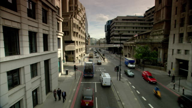 ha, ws, street scene, london, england - road signal stock videos & royalty-free footage