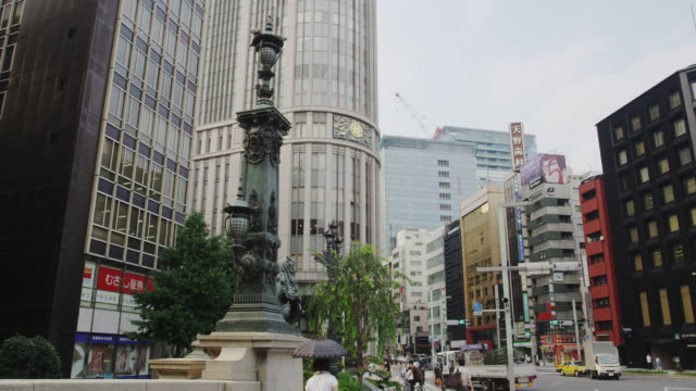 street scene nihonbashi - 2013 stock videos & royalty-free footage