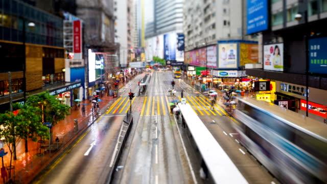 street scene of hong kong - tjänstekvinna bildbanksvideor och videomaterial från bakom kulisserna
