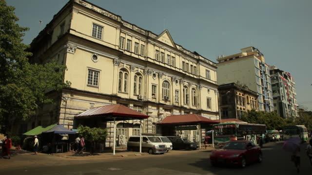 WS Street scene / Rangoon, Yangon, Myanmar