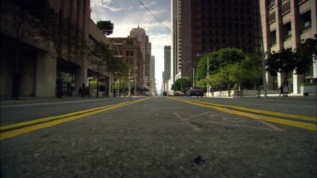 ms, street scene, san francisco, california, usa - surface level stock videos & royalty-free footage