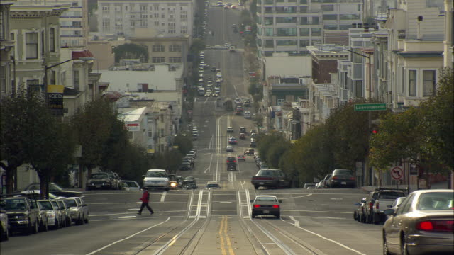 WS, Street scene, San Francisco, California, USA