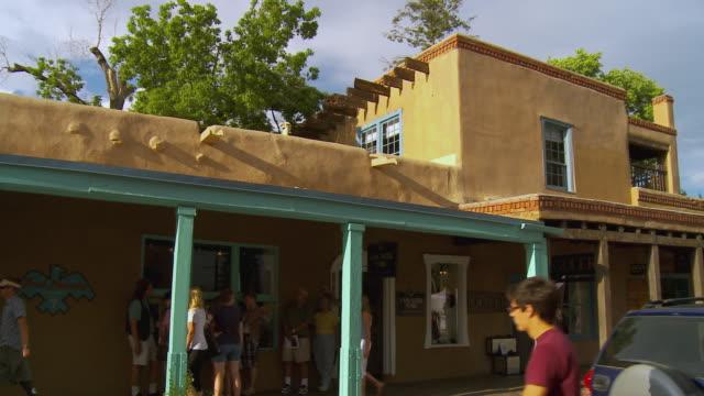 MS, PAN, Street scene, Santa Fe, New Mexico, USA