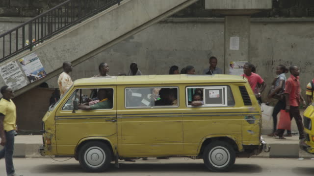 street scenes from lagos, nigeria - nigeria stock videos and b-roll footage