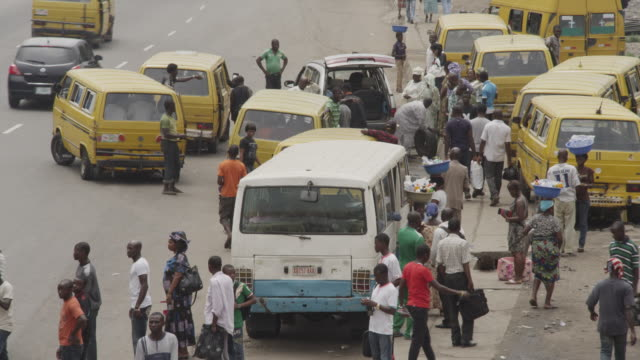 street scenes from lagos, nigeria - nigeria stock videos and b-roll footage