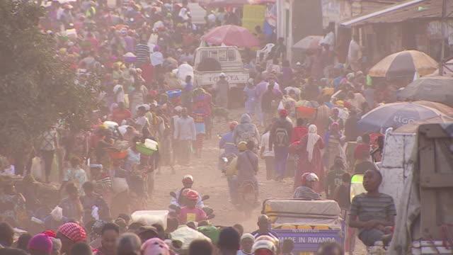 street scenes in goma democratic republic of congo - city stock videos & royalty-free footage