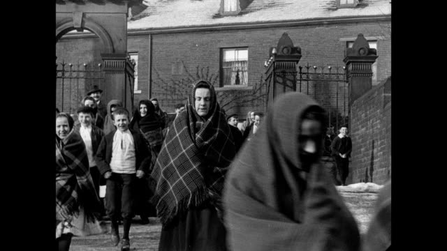 street scenes in halifax, 1902 - england stock videos & royalty-free footage