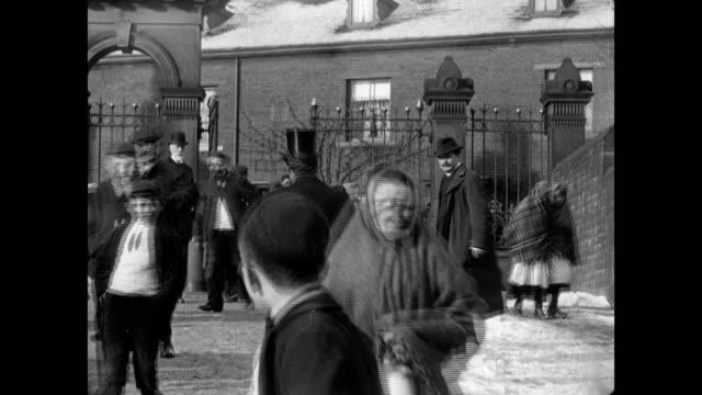 street scenes in halifax, 1902 - leapfrog stock videos and b-roll footage