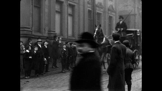 stockvideo's en b-roll-footage met street scenes in halifax, 1902 - edwardiaanse stijl
