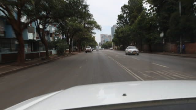 street scenes in harare - zimbabwe stock videos and b-roll footage
