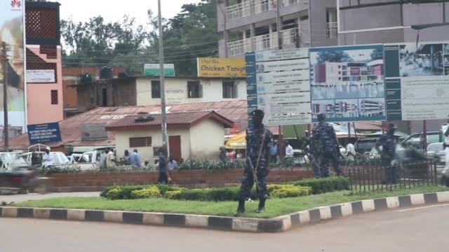 street scenes in kampala - kampala stock videos & royalty-free footage