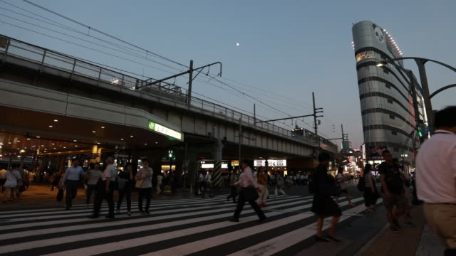 street scenes in the ueno district of tokyo japan on monday july 23 2018 - non western script stock videos & royalty-free footage