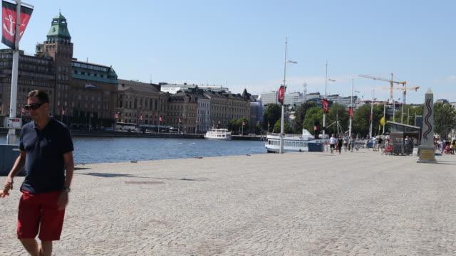 Street scenes of Stockholm