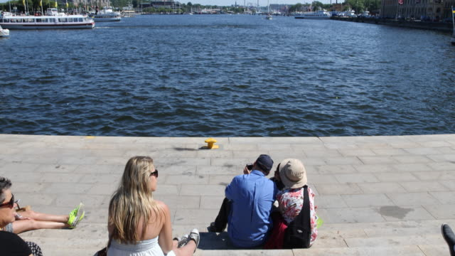 street scenes of stockholm - scandinavian culture stock videos and b-roll footage