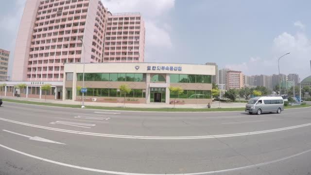 street scenes pyongyang mansudae hill - pyongyang stock videos and b-roll footage