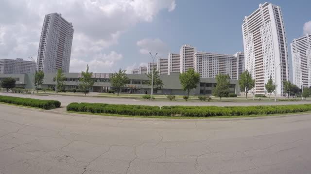 Street scenes Pyongyang Mansudae Hill