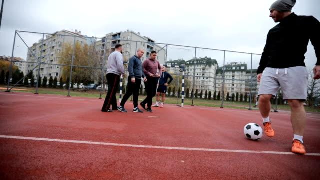 Street soccer time