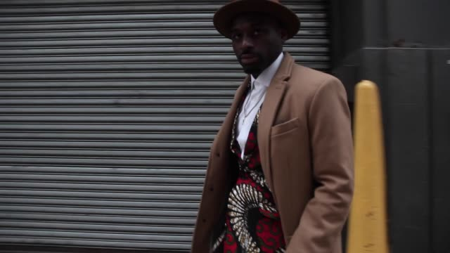 street style video new york fashion week fall 2016 collections on february 12 2016 in new york city - new york fashion week stock videos & royalty-free footage