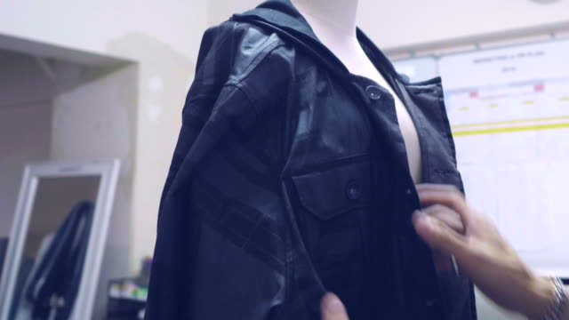 street style :  young asia fashion designer at studio - garment stock videos & royalty-free footage