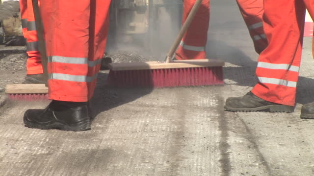 hd: street sweeping - service stock videos & royalty-free footage