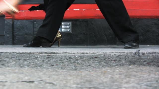 street tango - tangoing stock videos & royalty-free footage