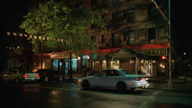 WS Street traffic outside small restaurant