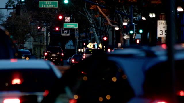 street - san jose california stock videos & royalty-free footage