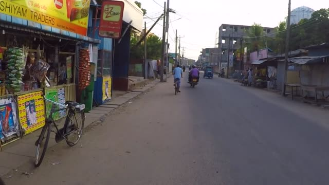 street views of kattankudy, sri lanka - sri lankan culture stock videos & royalty-free footage