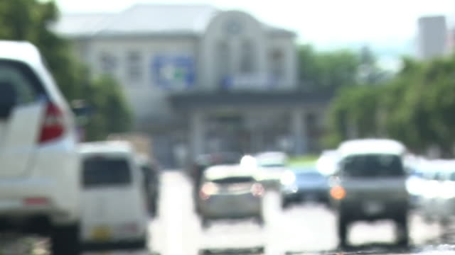 street with heat haze, gunma, japan - 社会問題点の映像素材/bロール
