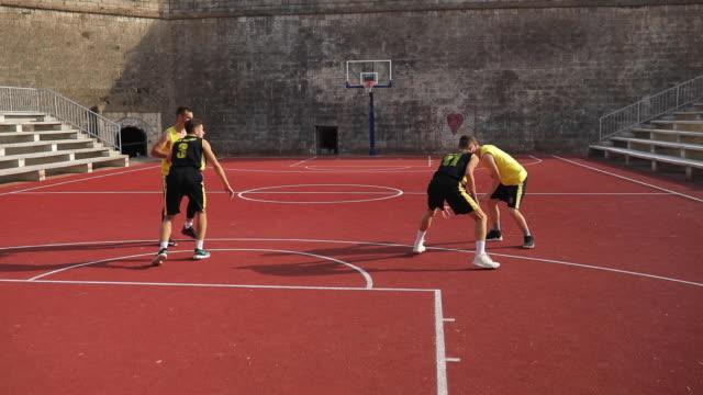 vidéos et rushes de jeu de streetball - streetball