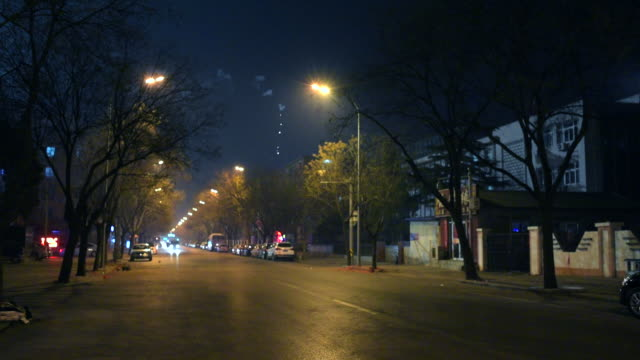 Streets of Beijing on New Year