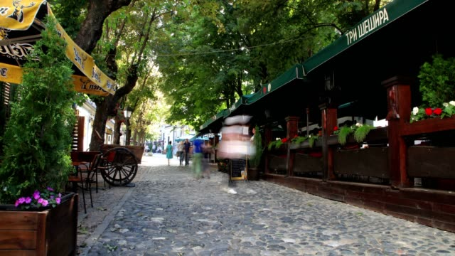 streets of belgrade (day) - hungarian culture stock videos & royalty-free footage