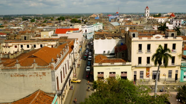 streets of camagüey, cuba - cuba video stock e b–roll