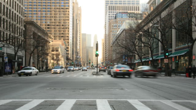 Strade di Chicago. HQ 1080 P 4:4: 4