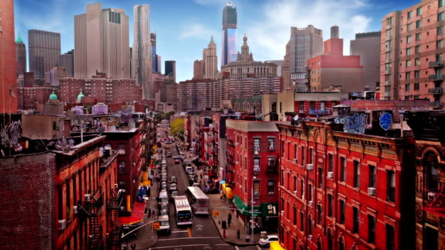 vídeos de stock, filmes e b-roll de ruas de chinatown em nova york - bairro chinês