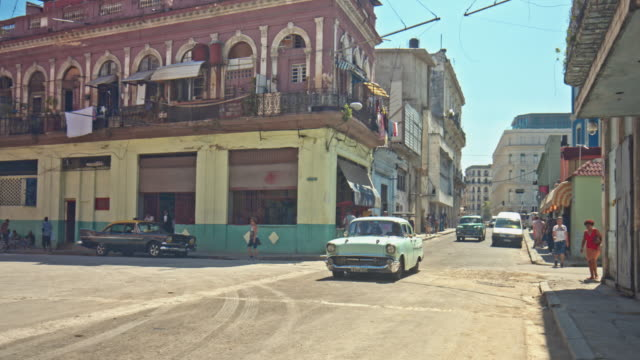 streets of havana - 1950 stock videos & royalty-free footage