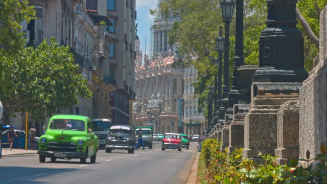 streets of havana - cuba stock videos and b-roll footage