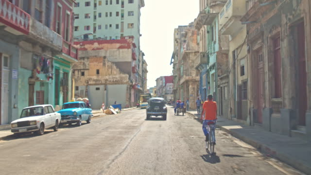 streets of havana - cuba stock videos & royalty-free footage