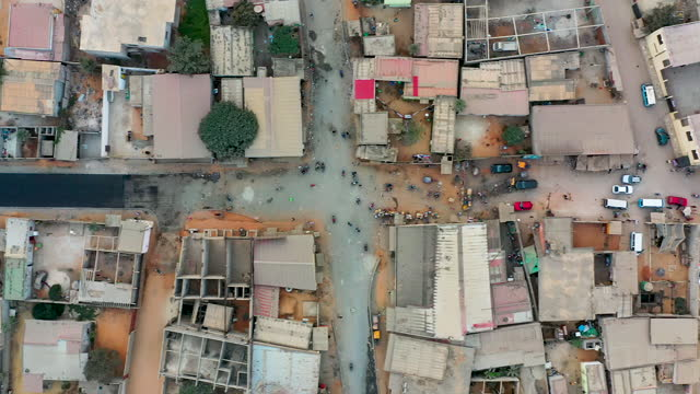 streets of luanda from above. slum and social issues concepts - politics and government stock videos & royalty-free footage