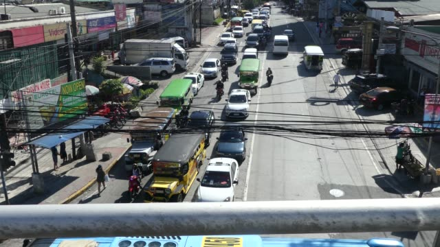 Streets of Manila in the Philippines