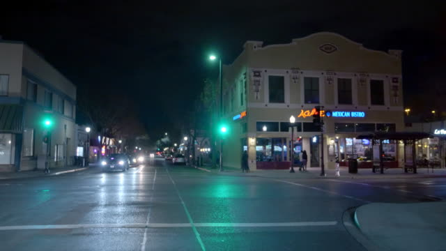 streets of mountain view, california - northern california stock videos & royalty-free footage