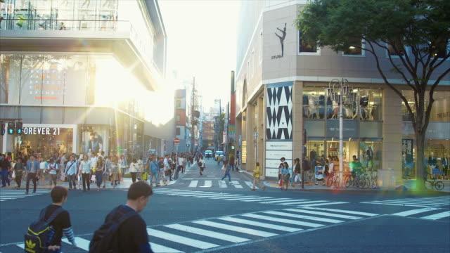 名古屋 (スローモーション) の通り - city life点の映像素材/bロール