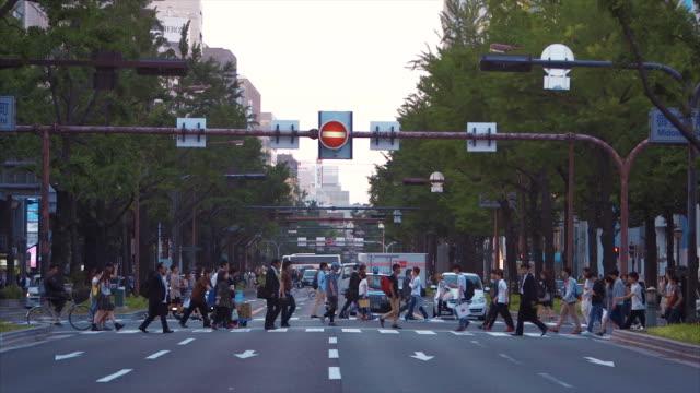大阪の街並み  - 大阪駅点の映像素材/bロール