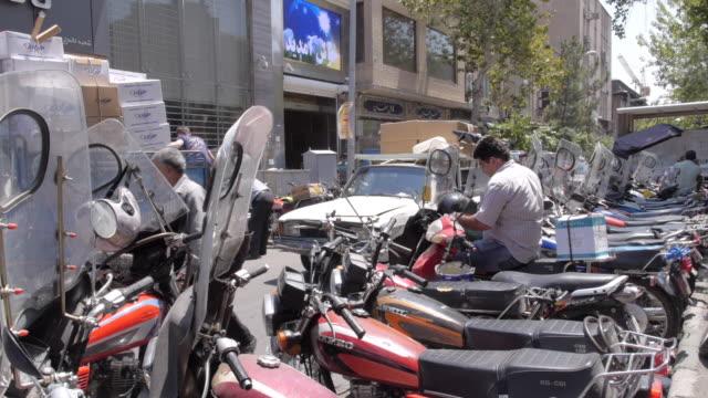 streets of tehran, iran 1 - tehran stock videos & royalty-free footage